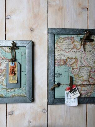 Nieuwe serie accessoires voor jongenskamers van studio thuis met Moon http://www.thuismetmoon.nl/shop/23/wereldkaarten