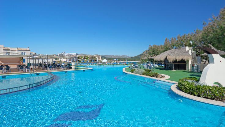 Piscina Hotel THB Cala Lliteras #mediterraneo #holidays #vacaciones #Mallorca #Majorque #hotel #hotels #hoteles #baleares #piscina #pool