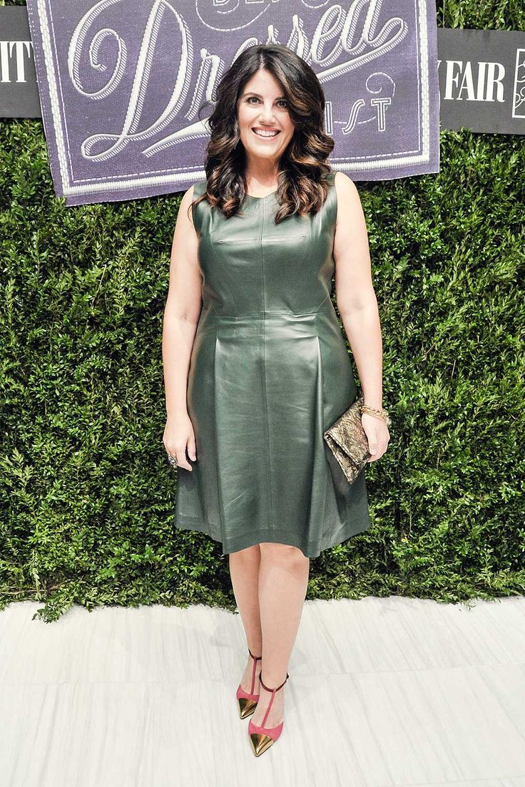 Monica Lewinsky attends Vanity Fair & SAKS Fifth Avenue International Best Dressed List