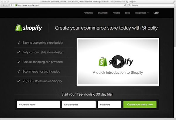 Shopify - A designer friendly ecommerce platform