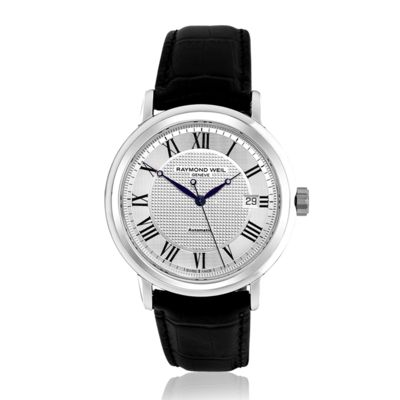 Gentleman's steel Raymond Weil automatic watch