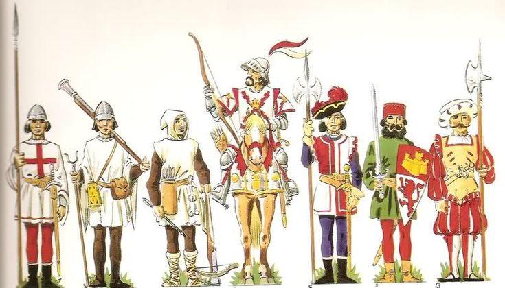 Santa Hermandad.http://historiasdelahistoria.com/2016/01/29/la-santa-hermandad-el-primer-cuerpo-policial-de-europa