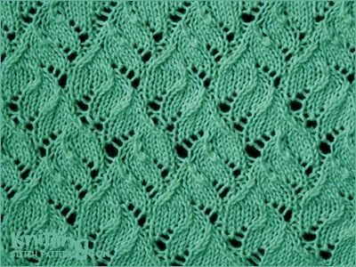 Chinese Lace - http://www.knittingstitchpatterns.com/2015/04/chinese-lace-kniting-in-round.html