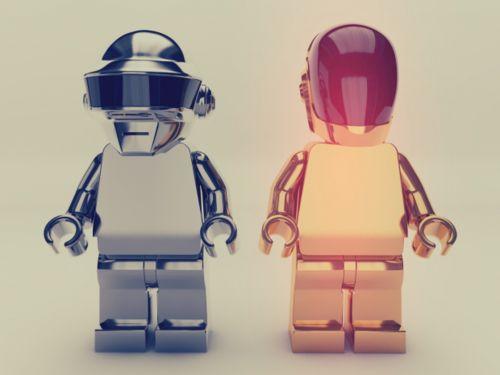 Daft Punk!  Lego