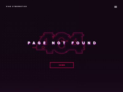 Daily UI - 008 : 404 Page