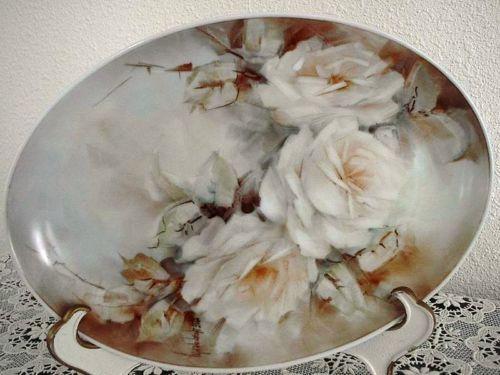 Mary Ellen Haggerty Handpainted plate