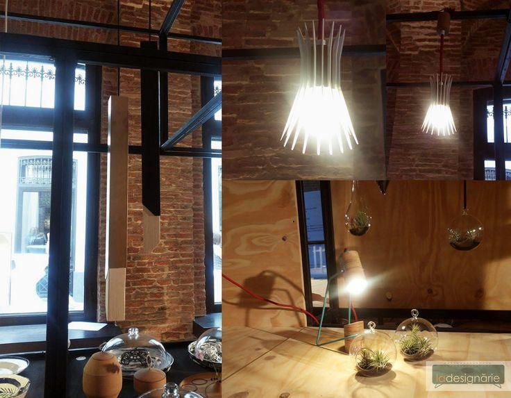 La Designarie at RDW 2015 Lamp Designer: Alex Dabuleanu Erizo Lamp Designer: Alexandra Morosanu LSP Lamp Designer: Andrei Ignat