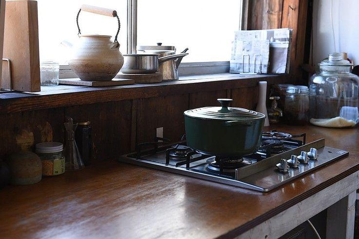 台所を使うひと セトキョウコさん:くらすこと