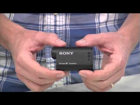 EXCLUSIVE HANDS ON: New Sony ActionCam with HD and WI-FI (IFA 2012)