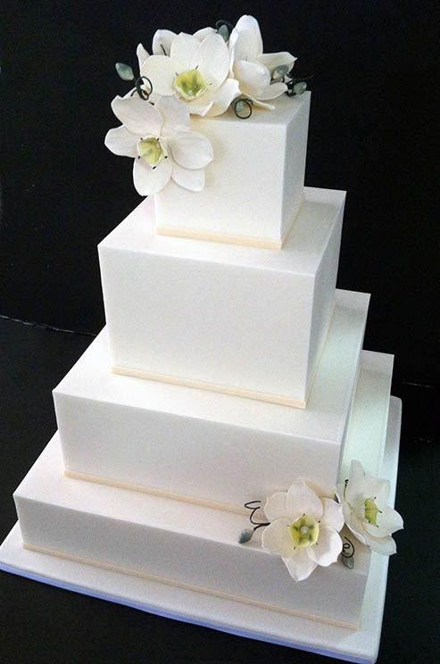 modern square wedding cake designs best 25 square wedding cakes ideas on 17468