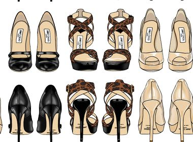Shoes And Heels Tumblr Dashboard Theme Fashion Themes