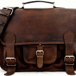 Cartable-Cuir-Vintage-INDUS-Retro-Sacoche-Cuir-cours-PC-portable-Cartable-vintage-bandoulire-PAUL-MARIUS-Taille-L-0