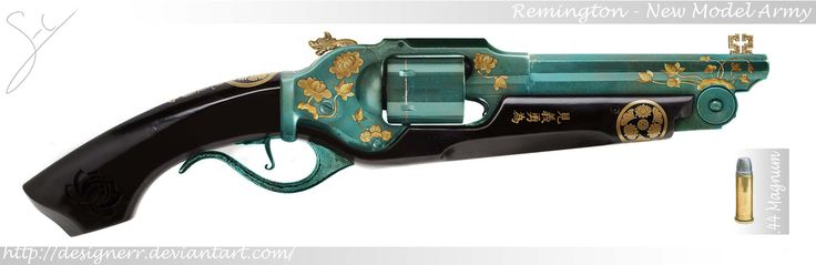 The Lotus Revolver started as a german wheellock pistol (probably dating back to the 16th century) that found its way to Japan in the hands of a firearms enthusiast and collector around 1600. Durin...