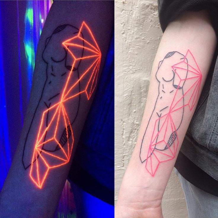 Best Tattoos Images On Pinterest Piercings Tatting And Tatoo - 30 creative black light tattoos you can see only under uv light 8 is what i call amazing