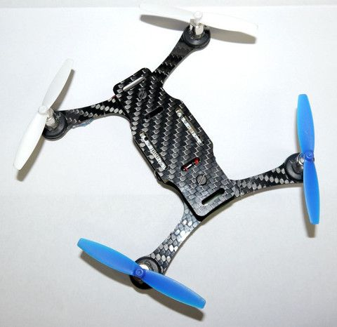 135mm Carbon Fiber MICRO-H Frame 8mm Edition (Cleanflight capable)