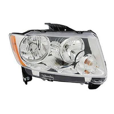 Crash Parts Plus Ch2519139 Right Headlamp Lens/housing For 11-13 Jeep Compass #car #truck #parts #lighting #lamps #headlights #ch2519139v