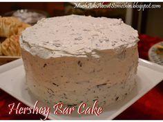 The BEST cake ever - Hershey Bar Cake!