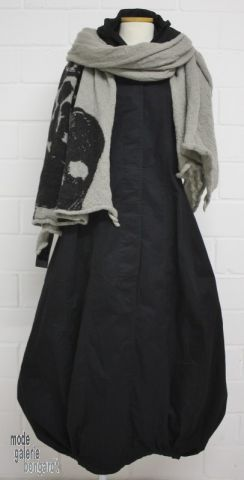 "www.modegalerie-bongardt.de - rundholz mode, rundholz black label, rundholz dip Rundholz black label Winter 2016 Kapuzen-Ballonkleid ""Cotton-Popeline""...3 verschiedene Farben ! 3550905-W16"