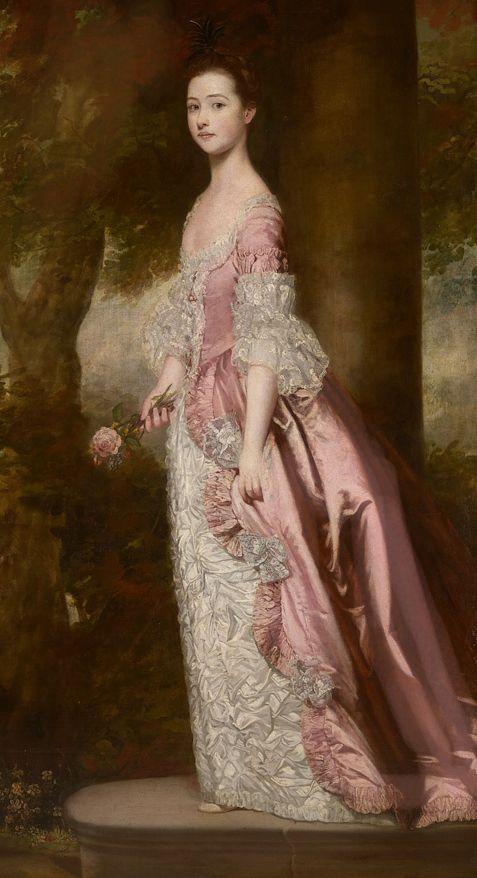 Miss Susanna Gale by Sir Joshua Reynolds: