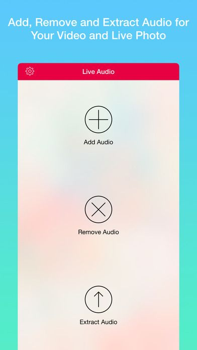 Audio Tool - Add Remove and Extract Audio for Live Photo and Video by MobiLab Co. Ltd. gone Free