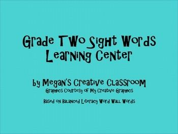 Are you using Balanced Literacy in your classroom? This is the file for you! It's a great way to encourage students to interact with their word wall.These templates have students create balanced literacy (word wall) words using letter tiles and then write the word out.