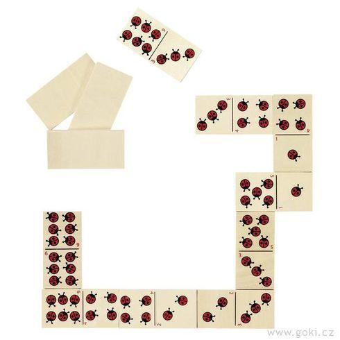 Domino berušky - Goki