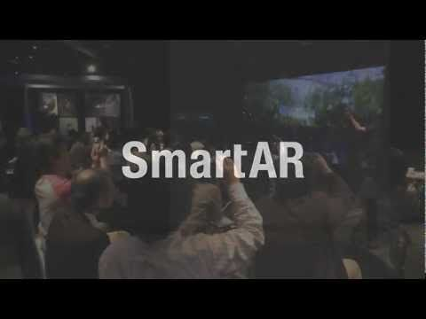 SmartAR. It's kind of like the opening of Stranger Than Fiction.