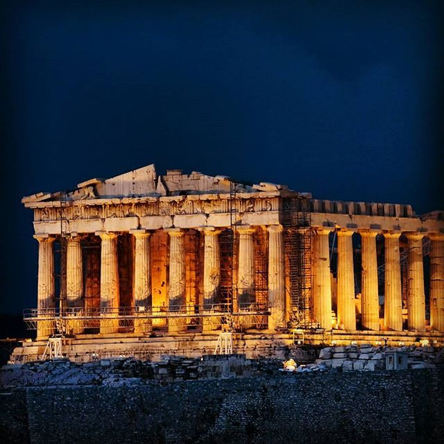 The amazing #Acropolis! #Athens #Greece Photo by @troyali11