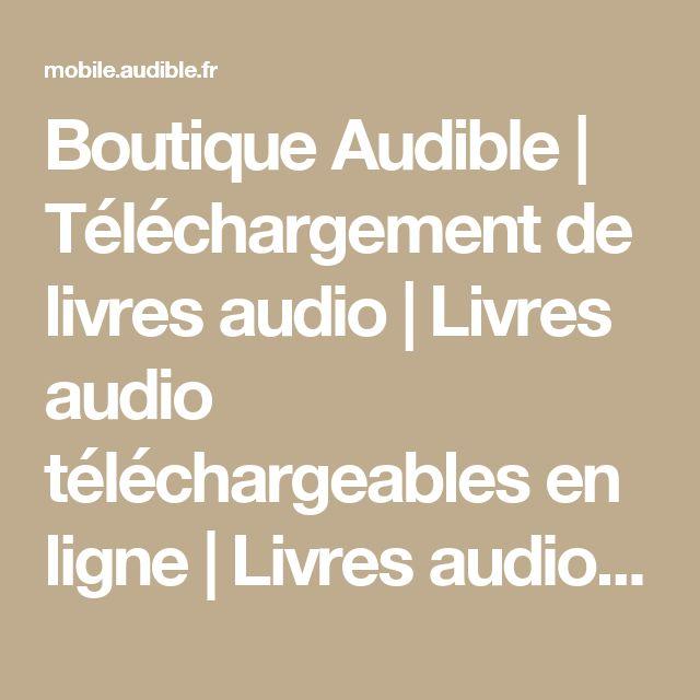 Bien-aimé Plus de 25 idées uniques dans la catégorie Telecharger livre audio  WW73