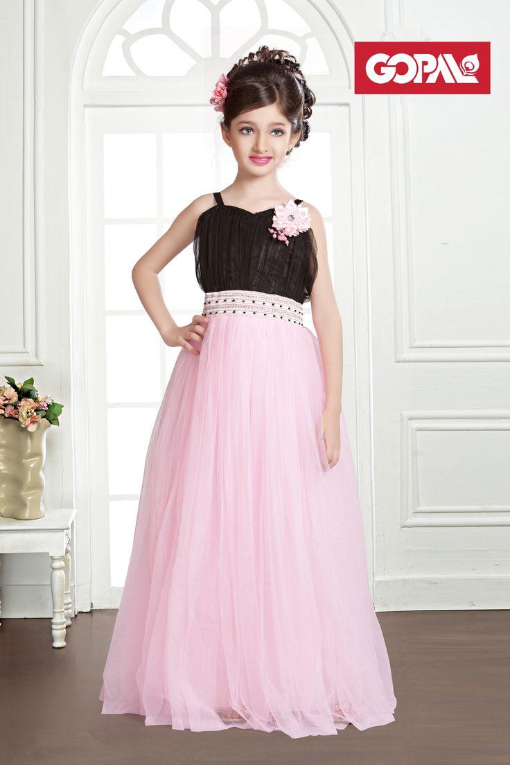 Treat your darling dotty with our uber chic & stylish Kids Wear range. #KidsWear #BallGown #OnlyGopal