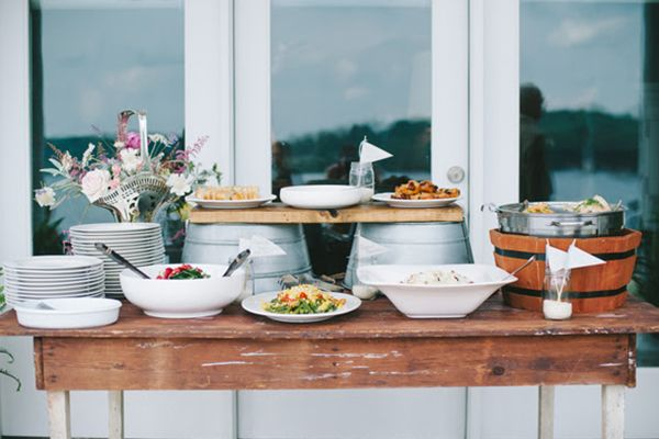 6 Alternative Wedding Receptions That'll Wow Your Guests: A Potluck Reception #refinery29