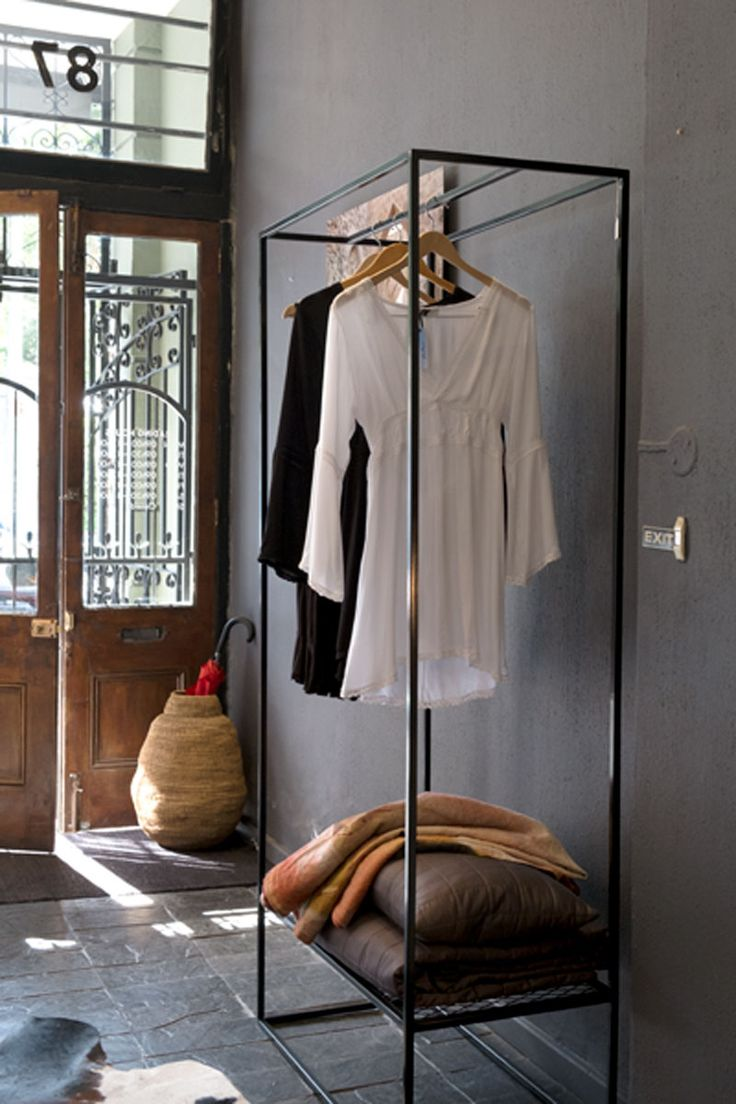 Stylish & practical, our new clothing rack