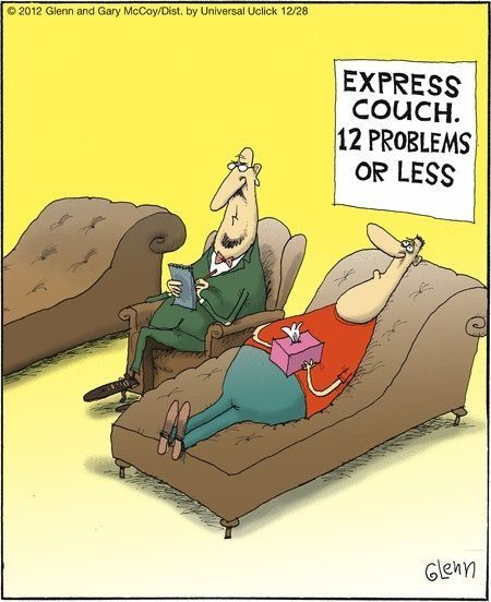 Therapy humour. Counselling. Psychotherapy. Psychodynamic. www.inspiredcounsellingservices.co.uk