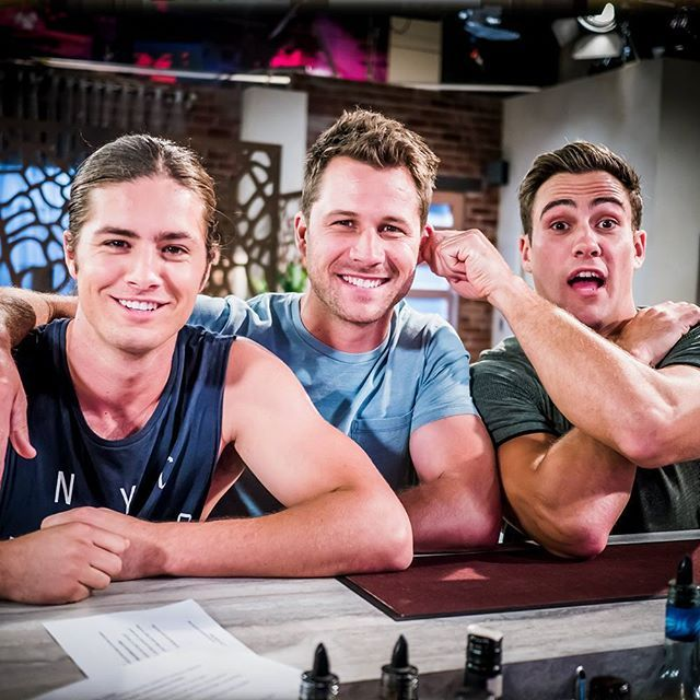 Who's your favourite Brennan brother - Tyler, Mark or Aaron? #Neighbours