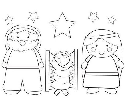 100 ideas to try about coloring pages coloring for Jesus birthday coloring pages
