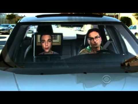 Shelbot in action. Sheldon is too evolved  to perform such plebeian task i.e driving  #sheldoncooperisagenius (pinterest.com/sheldon187)