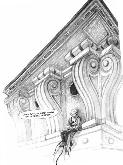 ilaria urbinati illustration for the graphic novel AAA