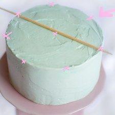 Anleitung zum Torten verzieren und dekorieren mit Buttercreme