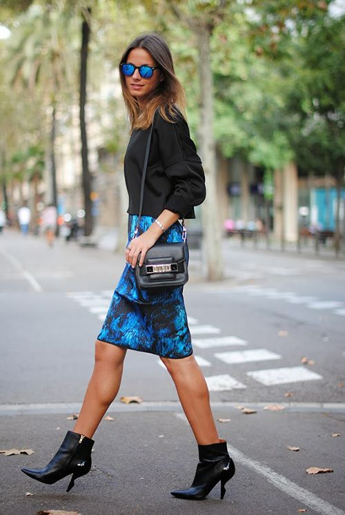 Tuesday Ten: August Style Tips - Black and Blue and Shades and Boots