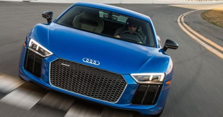 2017 Audi R8 V10 Plus Quattro - 610-horsepower naturally aspirated 5.2-liter V10 engine. The midengine super car claims a 3.2-second 0-to-60 mile-per-hour  time and 205-mph top speed.