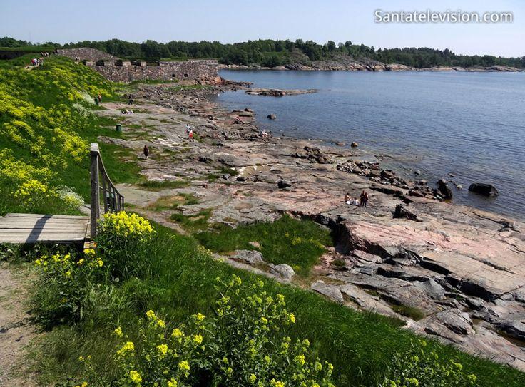 Fortaleza de Suomenlinna em Helsínquia na Finlândia: Património Mundial UNESCO