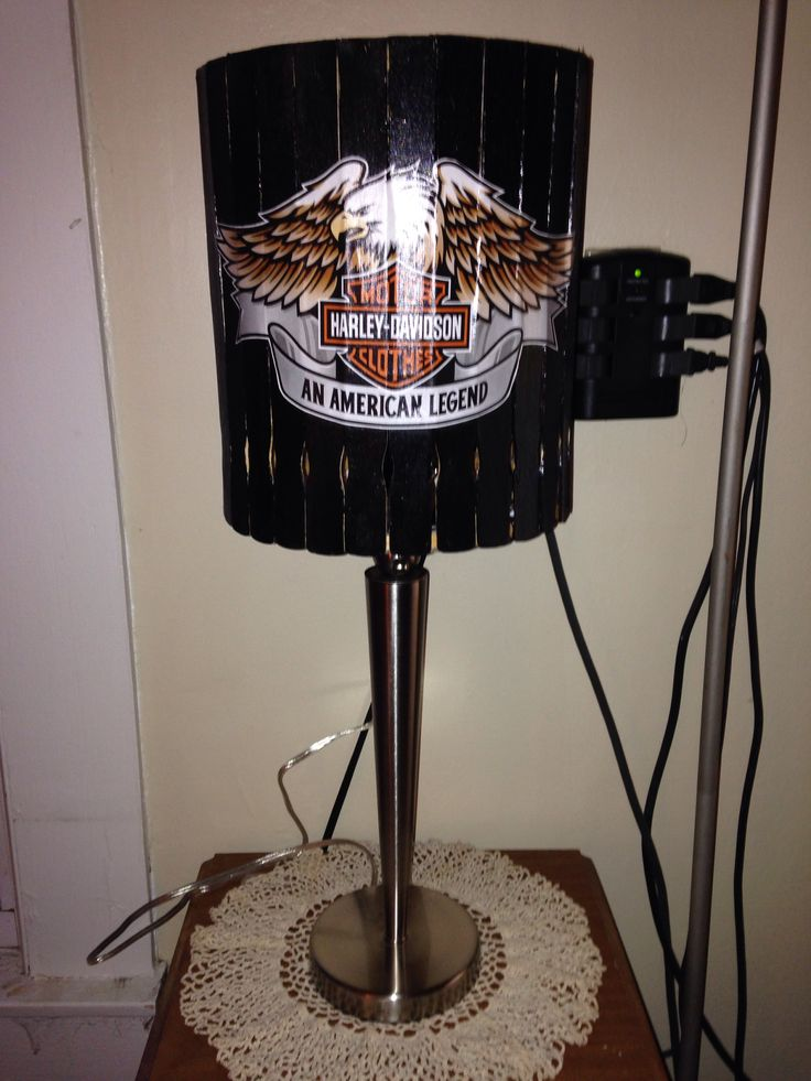 11 Best Harley Lamps Images On Pinterest Buffet Lamps