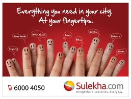 classifieds.sulekha.com at your Fingertips. Sulekha classifieds is one of the very useful website for buying and selling goods. Sulekha Classifieds Post free classified ads & Search online classifieds ads for Real Estate, Cars, Jobs, Rentals, Buy & Sell, Services and find practically everything.