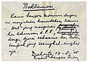 Isi teks proklamasi Kemerdekaan Indonesia TERLENGKAP http://ift.tt/2eGvLcH