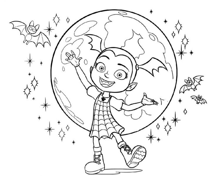 Vampirina Coloring Pages and Friends | 101 Coloring ...