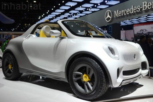 Photos Smart Unveils Quirky For Us Mini Electric Pickup