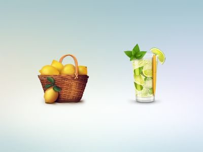 icons for Lemon Project by Alla Sheptulya
