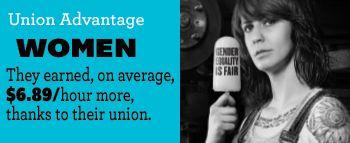 women union advantage