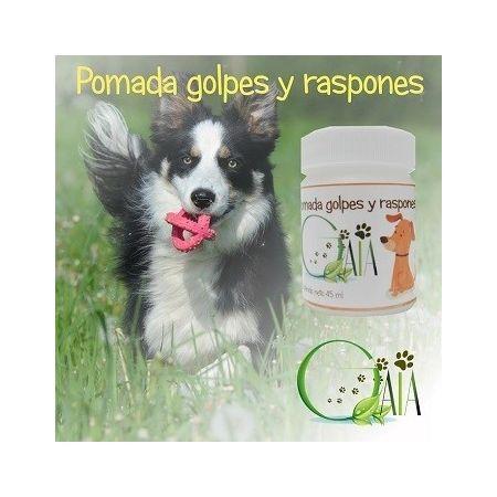 Pomada Golpes y raspones GAIA Pets. Para perros y gatos.45 ml.