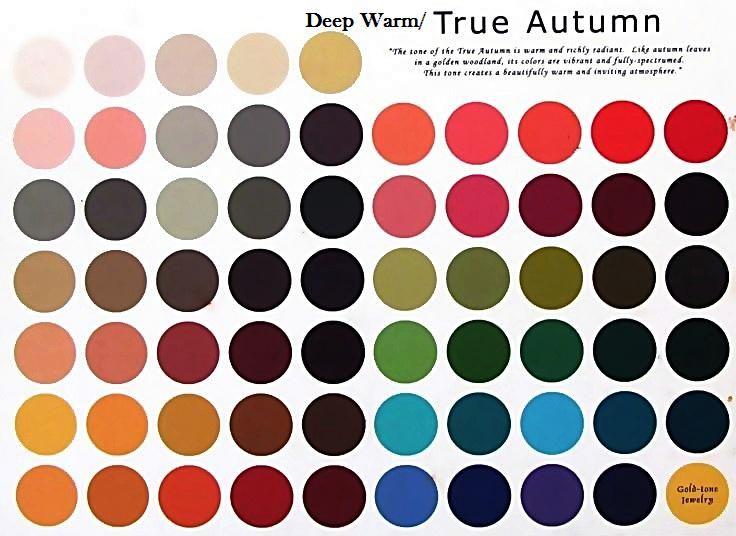 Deep Warm Autumn : deep warm colors
